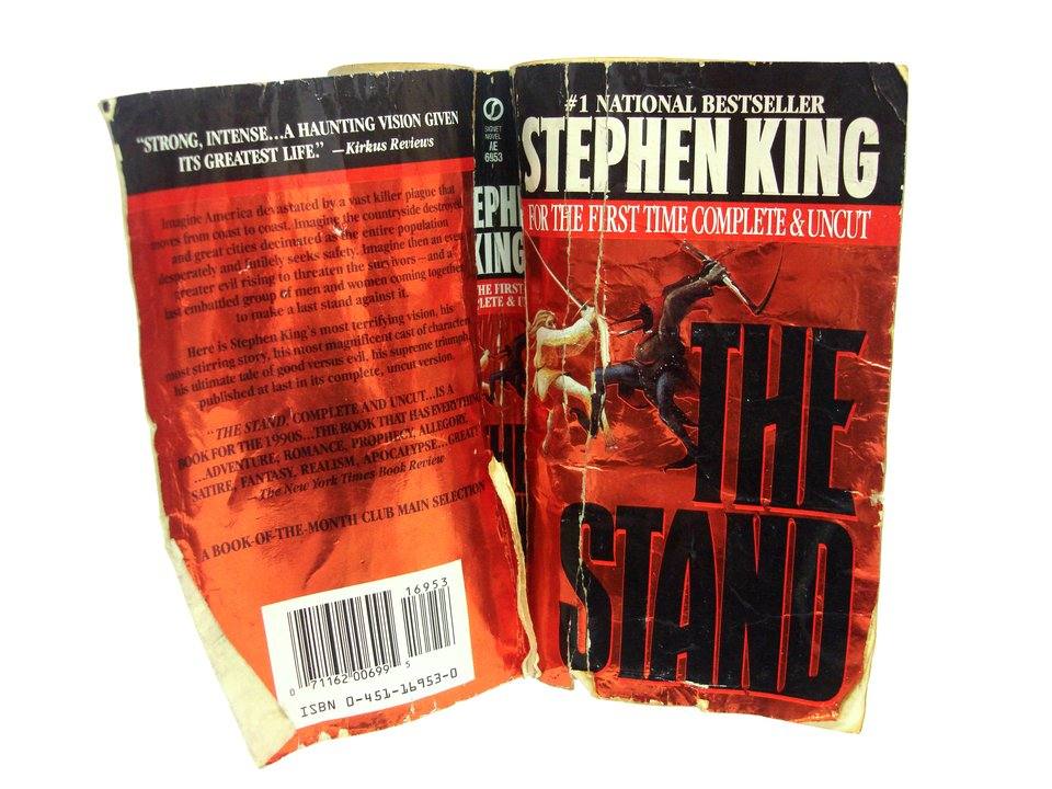 Anthony Marcellini - A Paperback Copy of The Stand Left Outside for Weeks Through Rain and Snow - The-stand-book09
