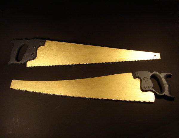 Beyond the Vanishing Point - The Weight of Gold  - GOLD_SAWS