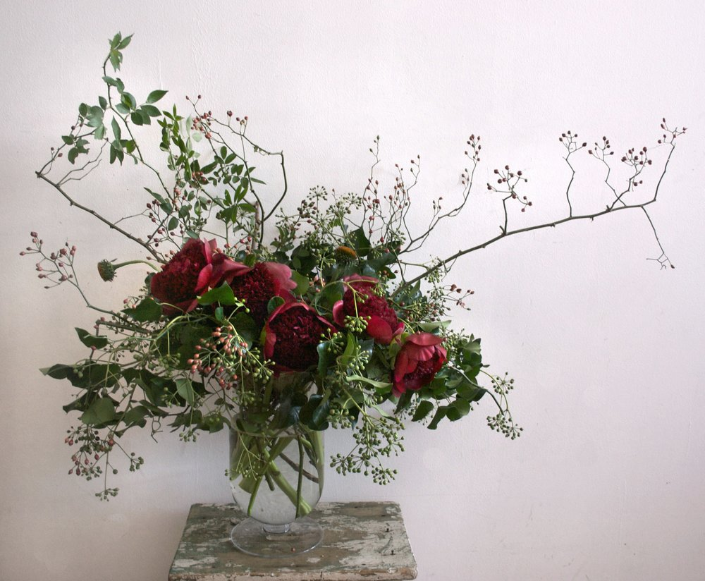 The Wedding Artists Collective - Ariel Dearie Floral Design - Rose Hips